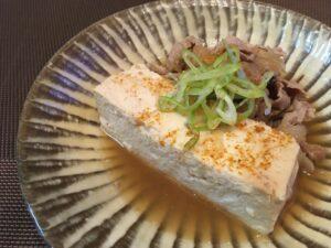 豆腐で美味しくタンパク質摂取!簡単豚肉豆腐4
