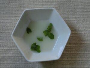 フルーツアイスの乳酸菌飲料がけ2