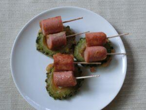 魚肉ソーセージの天ぷら3