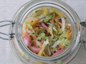 色々野菜の酢味噌づけ3