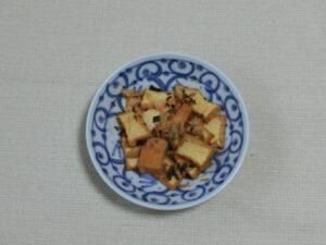 キムチと厚揚げ炒め:手順2