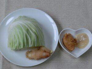 キャベツの味噌塩麹漬け1