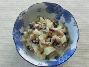 ミックスビーンズ(蒸し豆)のポテトサラダ3