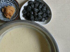 炊飯器で作る味噌パンケーキ2