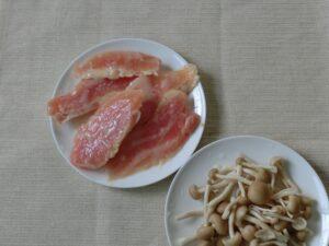 鶏胸肉のコーンクリーム煮1