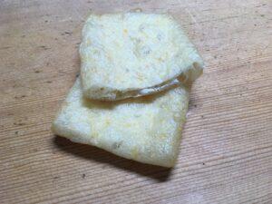簡単納豆の巾着焼き1