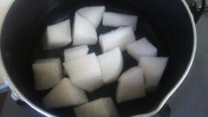 サバ缶の味噌煮1