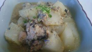 サバ缶の味噌煮3