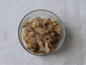 サバ水煮缶とタマネギ炒め3