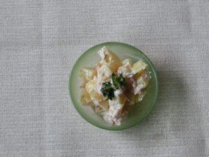 サケの水煮缶のポテトサラダの作り方3