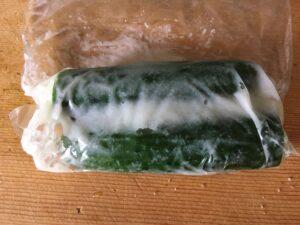塩麹で作る簡単さっぱりキュウリの漬物3