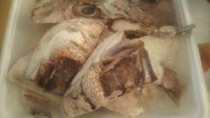 鯛のあら煮1