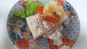 豆腐と豚しゃぶサラダ3