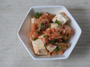 豆腐とキムチのサラダ3