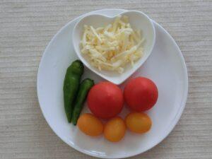 トマトピザ1