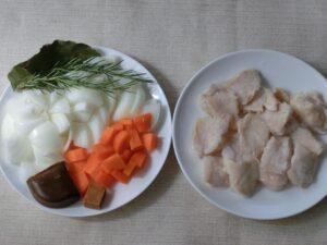 鶏むね肉のカレーあんかけ2