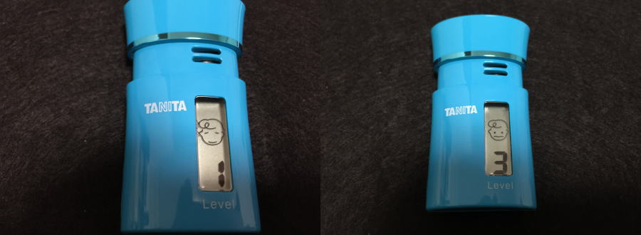 タニタブレスチェッカーHC-212M(ブルー)測定結果